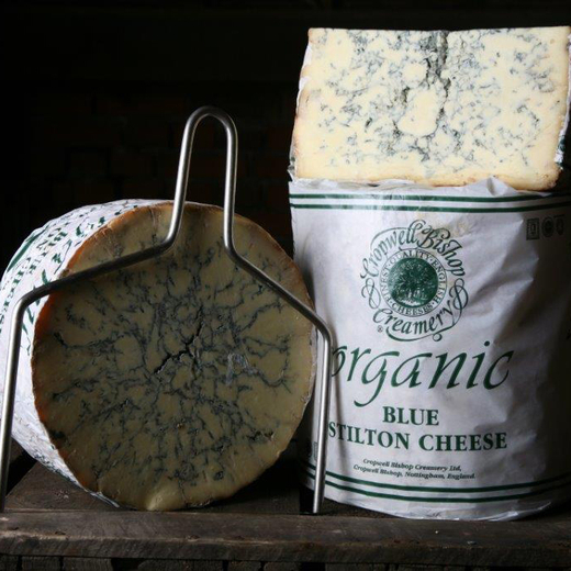 Blue Stilton der Cropwell Bishop Creamery